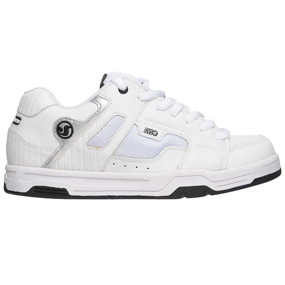 DVS Enduro - White Leather - Men's Skateboard Shoes