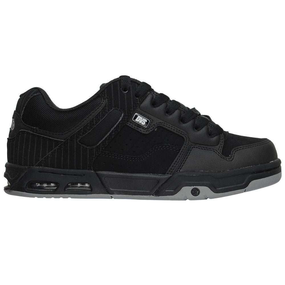 DVS Enduro Heir - Black Stripe Leather - Men's Skateboard Shoes