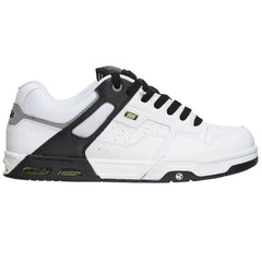 DVS Enduro Heir - White/Black Action Leather - Men's Skateboard Shoes