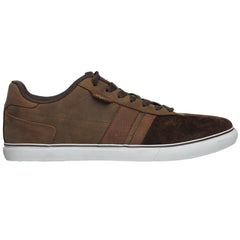 DVS Milan 2 CT - Brown Oiled Leather - Men's Skateboard Shoes