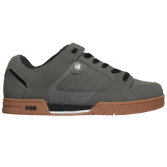 DVS Militia - Grey Nubuck - Men's Skateboard Shoes