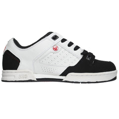 DVS Militia - White/Red - Men's Skateboard Shoes