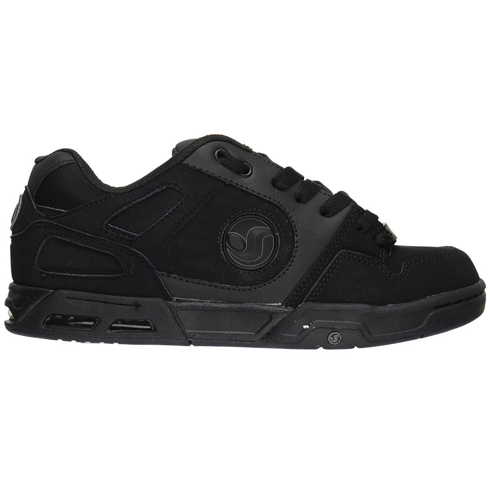 DVS Tracker Heir - Black'd Out Nubuck - Men's Skateboard Shoes