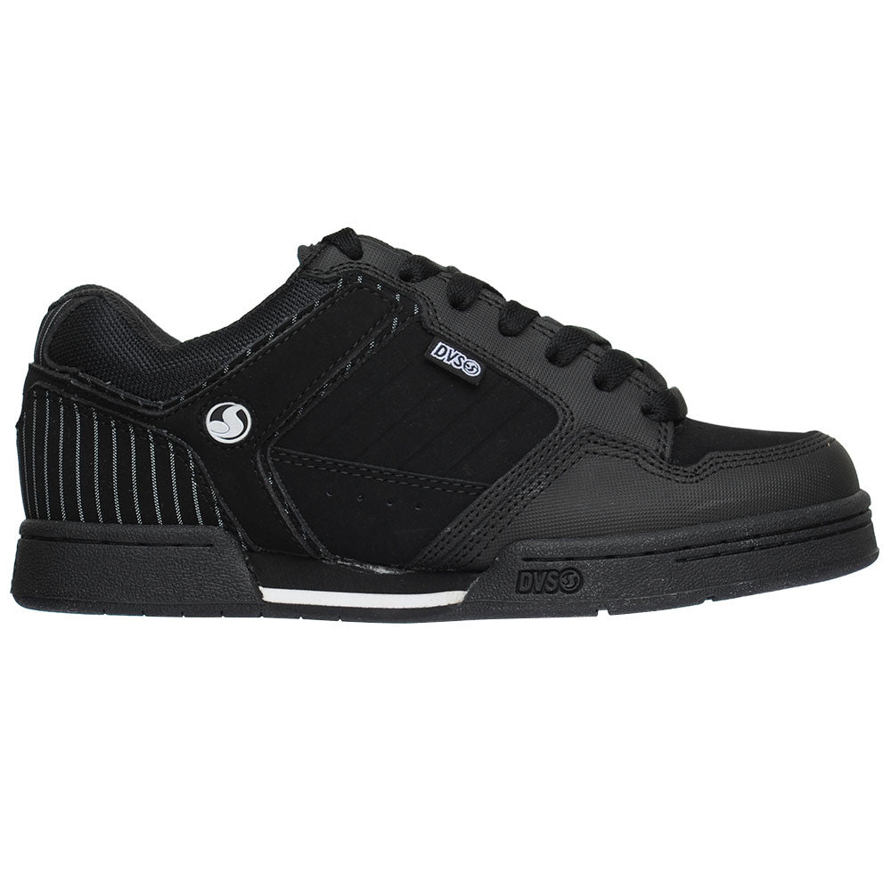 DVS Transom - Black Nubuck - Men's Skateboard Shoes