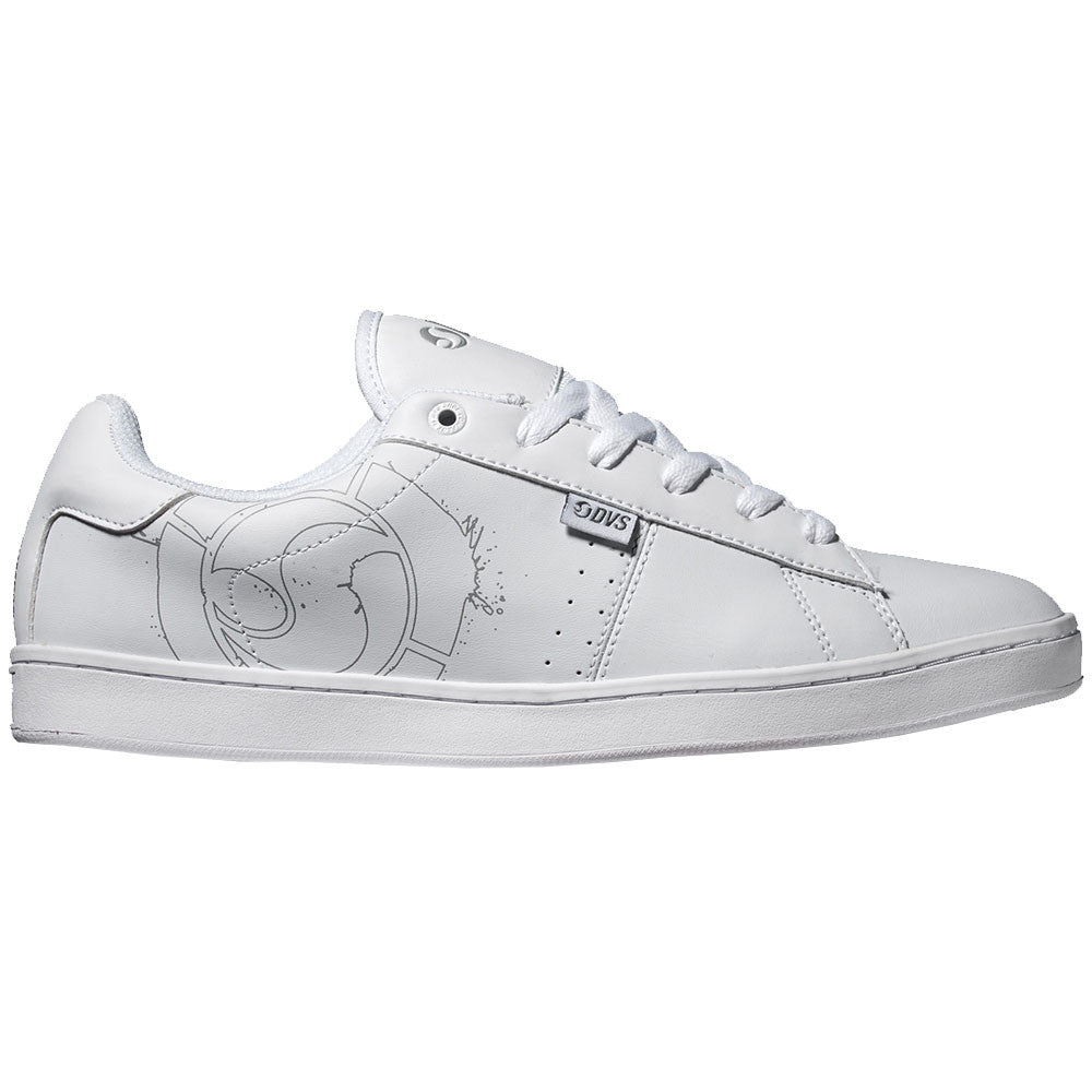 DVS Revival 2 - White/Grey 100 - Men's Skateboard Shoes