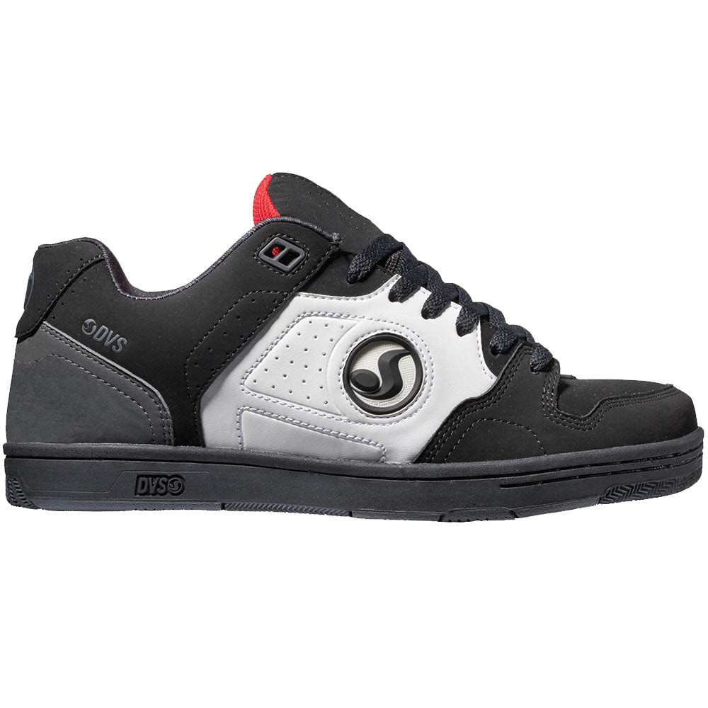 DVS Discord - Black/White/Red 010 - Men's Skateboard Shoes
