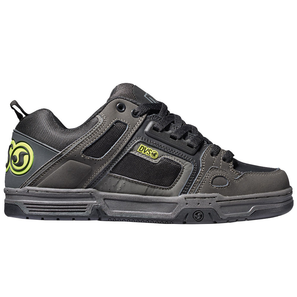 DVS Comanche - Grey/Black/Lime 028 - Men's Skateboard Shoes
