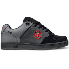 DVS Discord - DE Grey/Black/Red 023 - Men's Skateboard Shoes