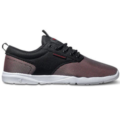 DVS Premier 2.0 - Black/Red Mesh 005 - Men's Skateboard Shoes