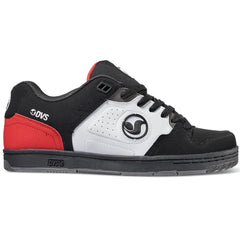 DVS Dicord - Black/White/Red 013 - Men's Skateboard Shoes