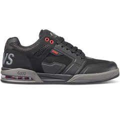 DVS Enduro X - Black/Grey/Red 005 - Men's Skateboard Shoes