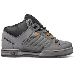 DVS Militia Boot - Grey 022 - Men's Skateboard Shoes