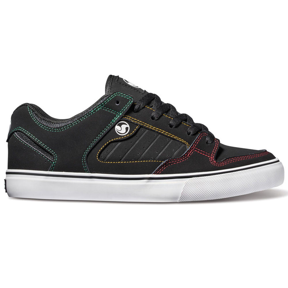 DVS Militia CT - Black/Rasta 017 - Men's Skateboard Shoes