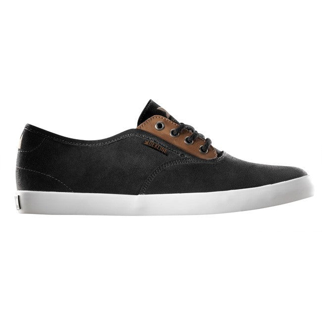 Dekline Daily - Black/Camel Suede/Leather - Skateboard Shoes