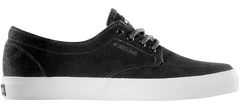 Dekline Mason - Premium Pewter/Black Oil Suede - Skateboard Shoes