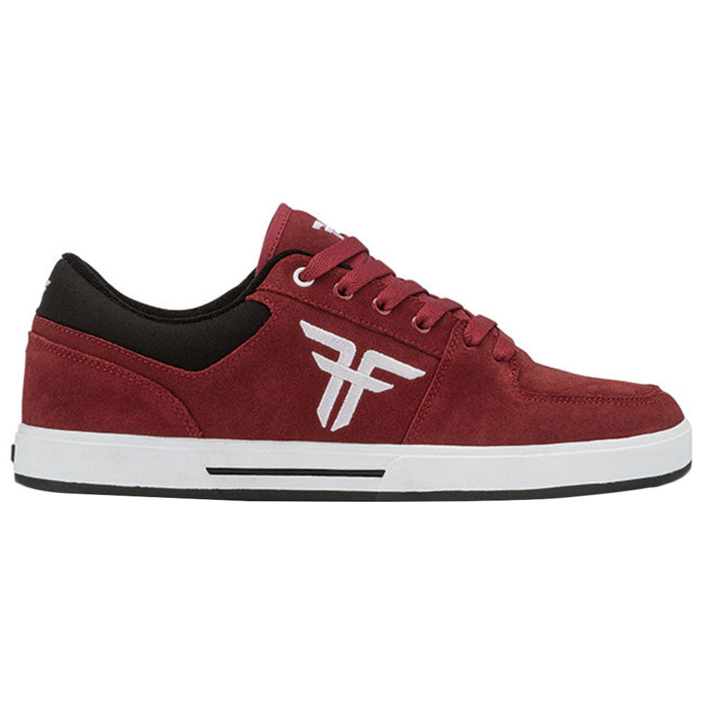 Fallen Patriot - Oxblood/White - Men's Shoes