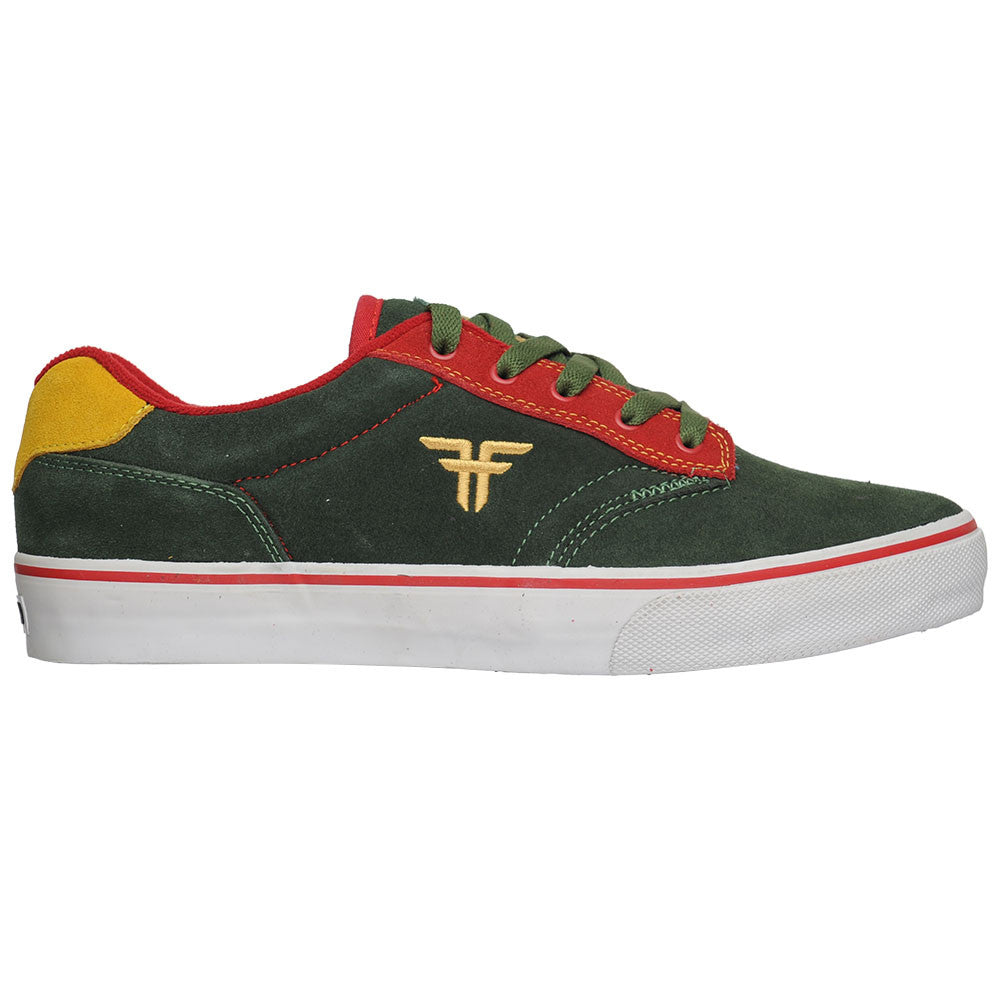 Fallen Brian Hansen Slash - DK Forest/Red/Gold - Men's Skateboard Shoes