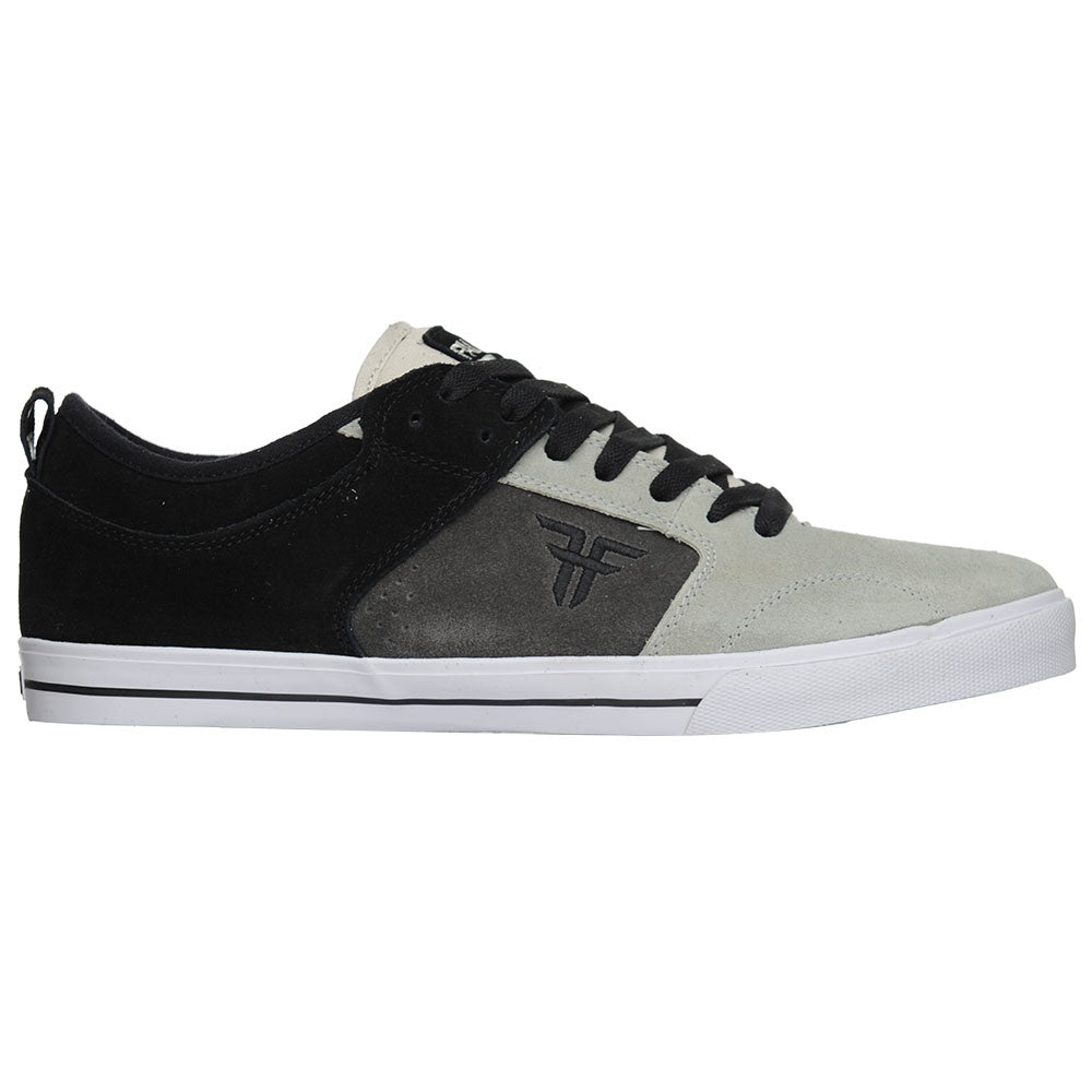 Fallen Clipper - Black/Dark Grey/Light Grey - Men's Skateboard Shoes