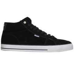 Fallen Garrett Hill Corsair - Black/White - Men's Skateboard Shoes