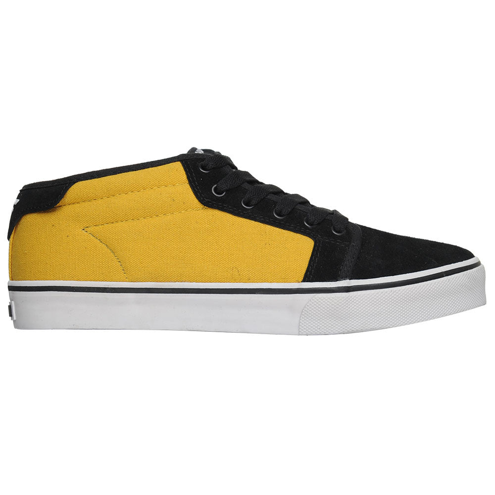 Fallen Jamie Thomas Forte Mid - Black Mustard - Men's Skateboard Shoes