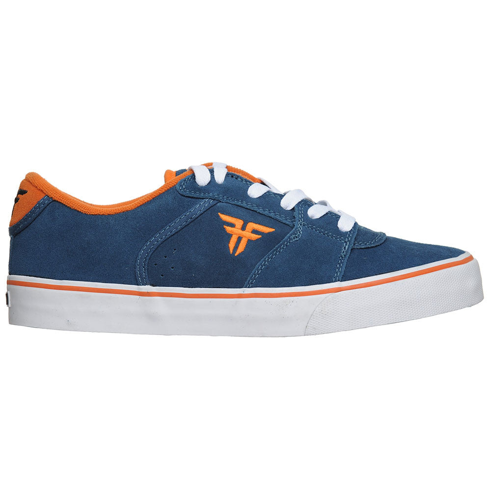 Fallen Tommy Sandoval Regal VLC - Navy/Orange - Men's Skateboard Shoes