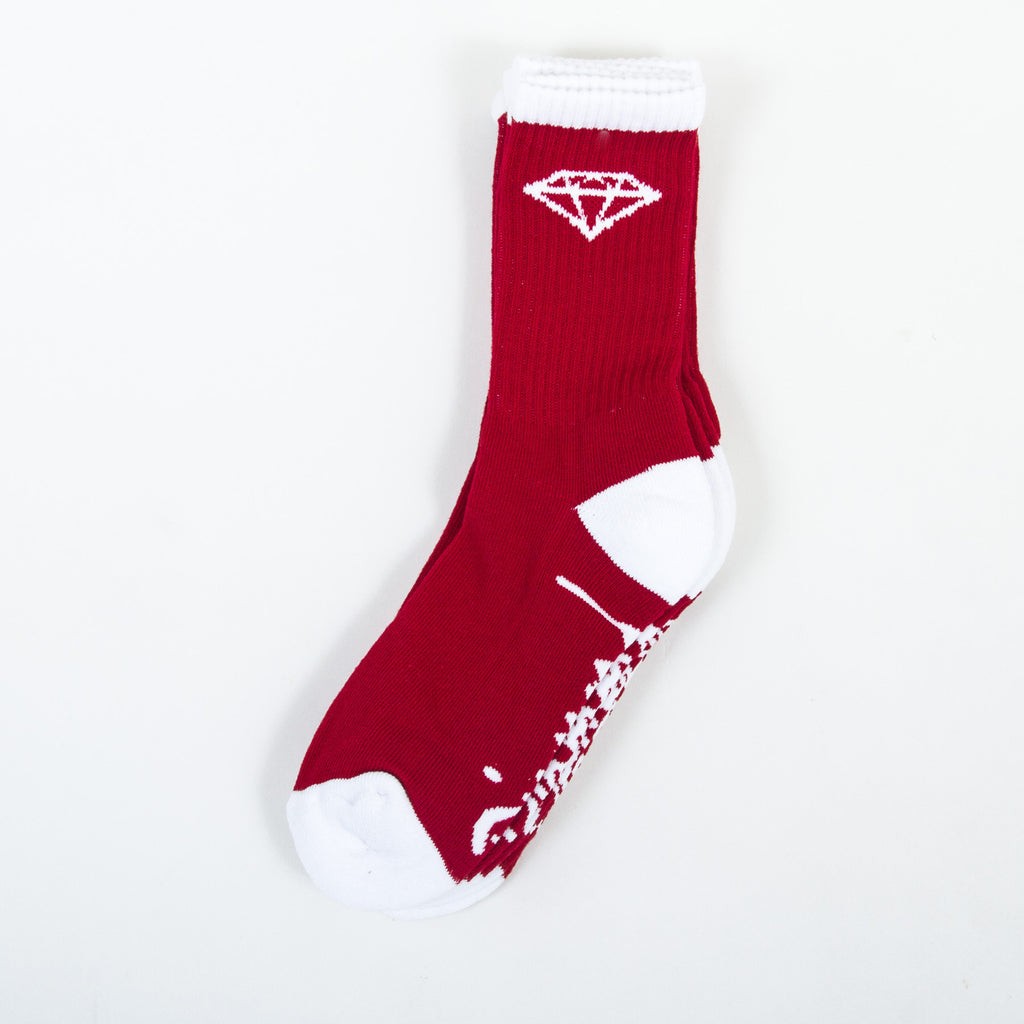 Diamond OG High Cut - Red/White - Men's Socks (3 Pairs)