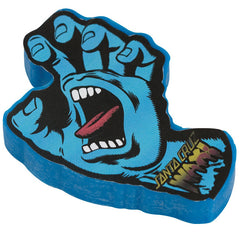 Santa Cruz Screaming Hand - Blue - Skateboard Wax