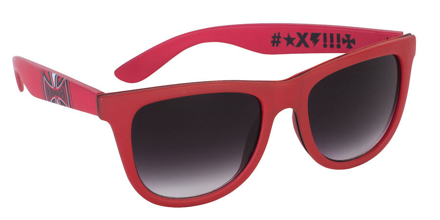Independent FN Sunglasses - Matte Red - OS Unisex - Sunglasses