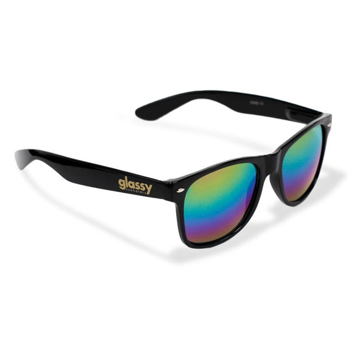 Glassy Leonard - Black/Color Mirror - Sunglasses