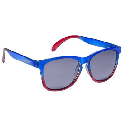 Glassy Deric - Clear Blue/Clear Red - Sunglasses