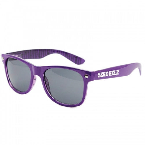 Glassy Leonard Send Help - Purple - Sunglasses