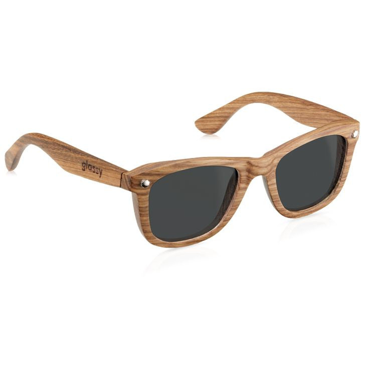 Glassy Marc Johnson Signature Polarized - Wood - Sunglasses