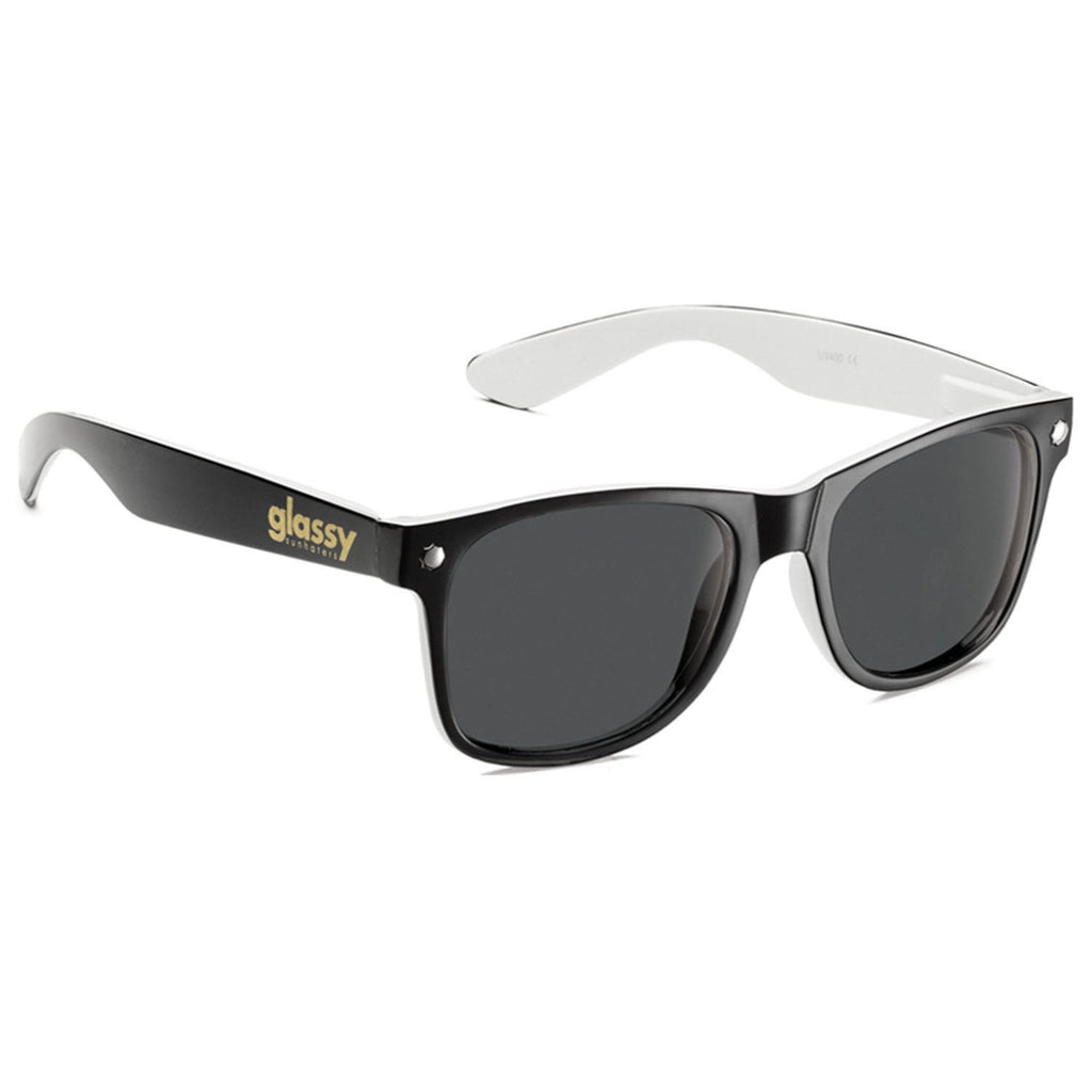 Glassy Leonard Halfy - Black/White - Sunglasses