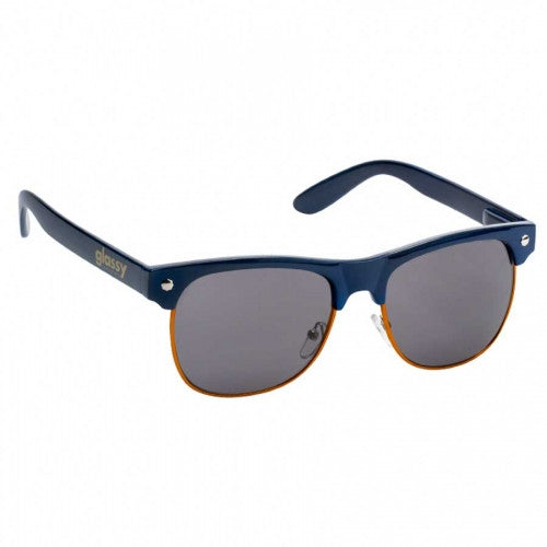 Glassy Shredder - Navy/Orange- Sunglasses