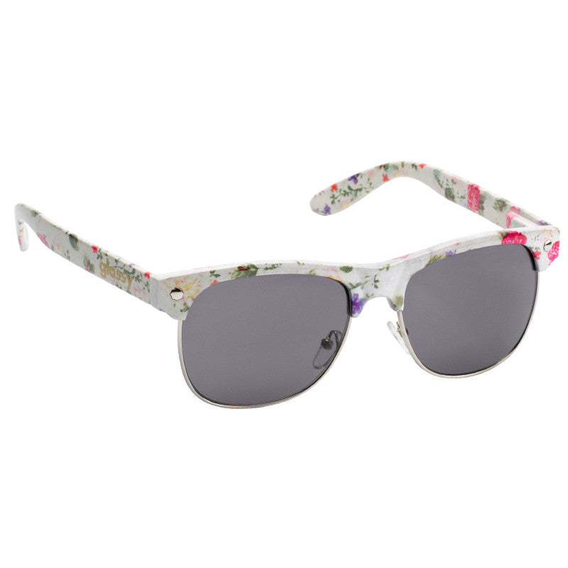 Glassy Shredder - White/Floral - Sunglasses