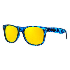 Brigada Lawless - Navy/Tortoise w/ Orange Mirrored Lens - Sunglasses