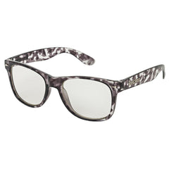 Brigada Lawless - Grey/Tortoise w/ Clear Lens - Sunglasses