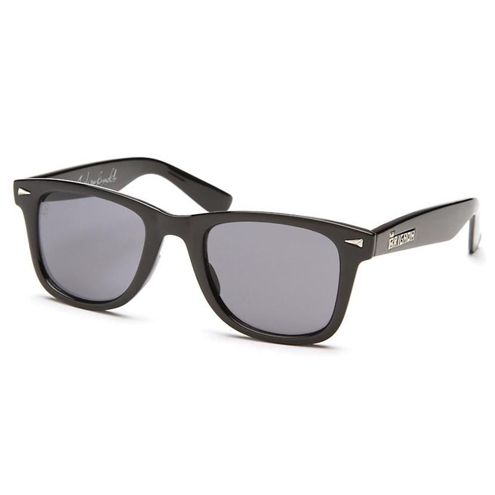 Brigada Andrew Reynolds Renegade - Black/Red w/ Smoke Lens - Sunglasses