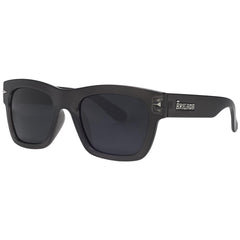 Brigada Big Shot - Charcoal/Frost w/ Smoke Polarized Lens - Sunglasses