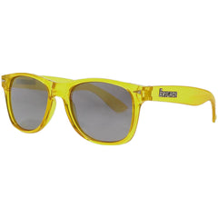 Brigada Lawless - Crystal/Yellow w/ Mirrored Iridescent Lens - Sunglasses