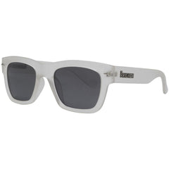 Brigada Big Shot - White/Frost w/ Smoke Polarized Lens - Sunglasses