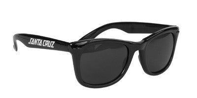 Santa Cruz Strip Shades - Black OS Unisex - Sunglasses