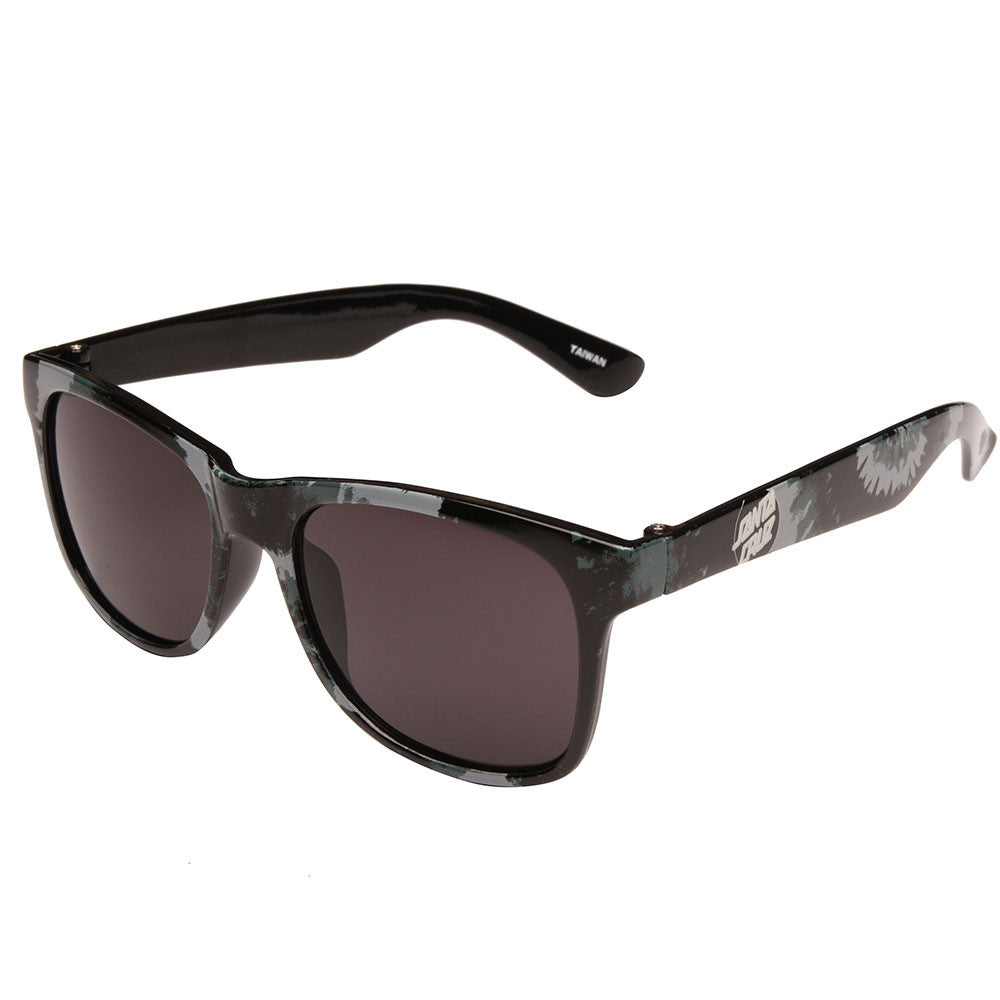 Santa Cruz Smokey Tie Dot Wayfarer O/S - Black - Sunglasses