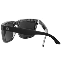 Santa Cruz Lupe Square O/S - Matte Black - Sunglasses