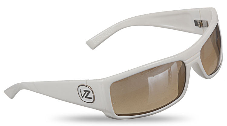 Von Zipper Burnout - White Frame / Grey Chrome Lens - Sunglasses