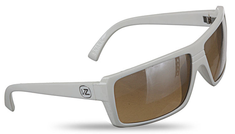 Von Zipper Snark - White Gloss Frame / Chrome Gradient Lens - Sunglasses