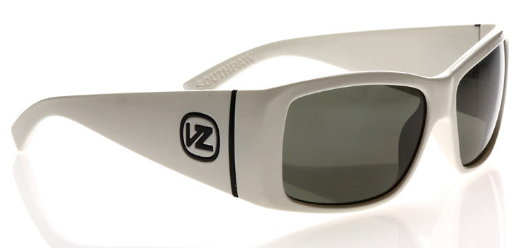 Von Zipper Southpaw - White Frame / Grey Lens - Sunglasses