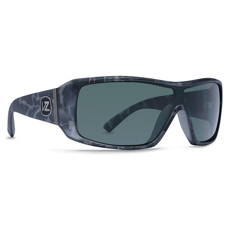Von Zipper Comsat - Onyx Satin Frame / Grey Lens - Sunglasses