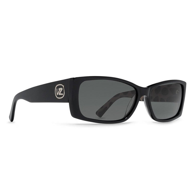 Von Zipper Strutz - Black Gloss Frame / Grey Lens - Sunglasses