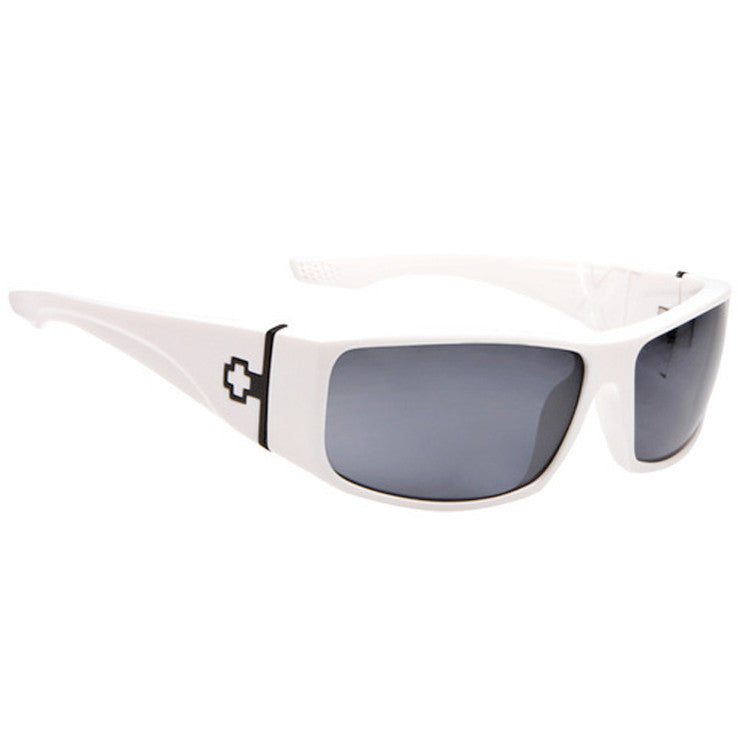 Spy Cooper XL - White Frame / Grey Lens - Sunglasses